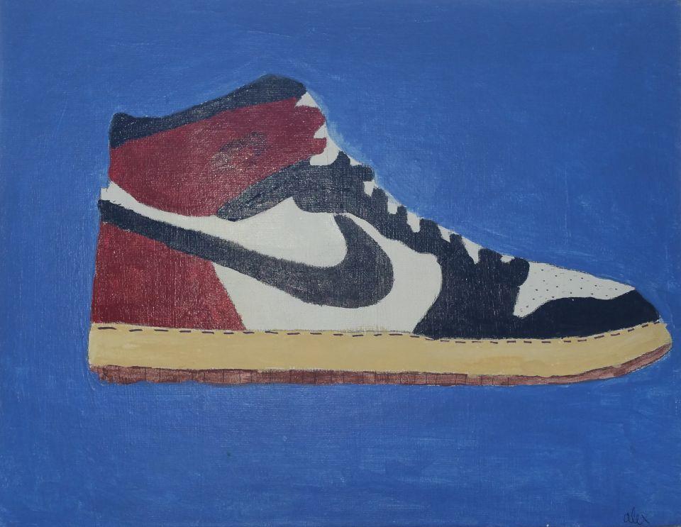 Alex's shoe